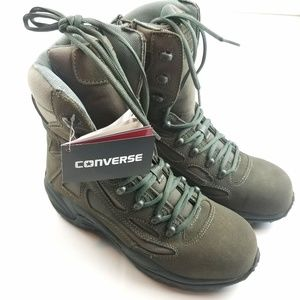 Mens Converse Army Tactical Boots Size 10.5